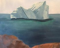 Fogo Island Iceberg Sighting, Nfld. 20×20