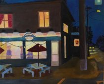 Night time Ice Cream Run 12×12