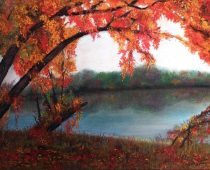 Fall on the Riverbank