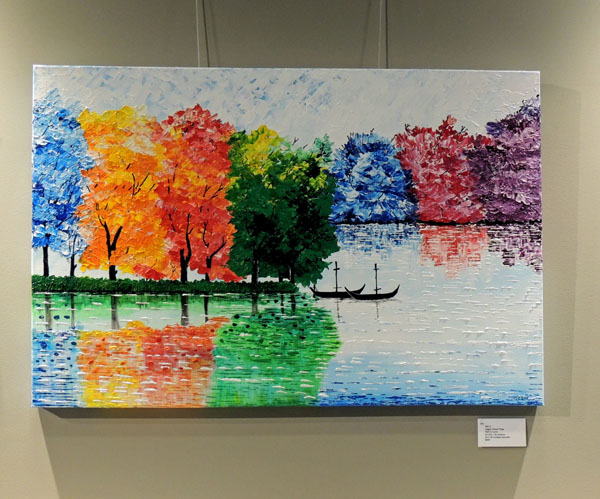 Artworks at the Annual Awards Exhibition at Centrepointe