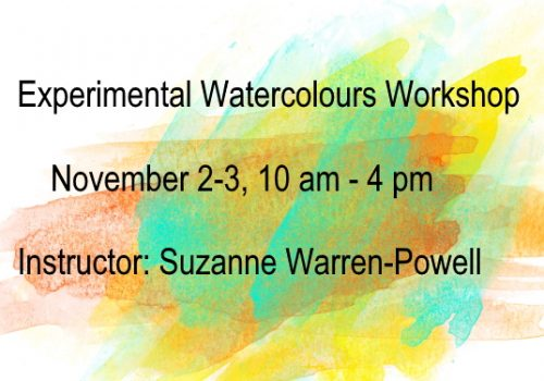 Experimental Watercolours Workshop